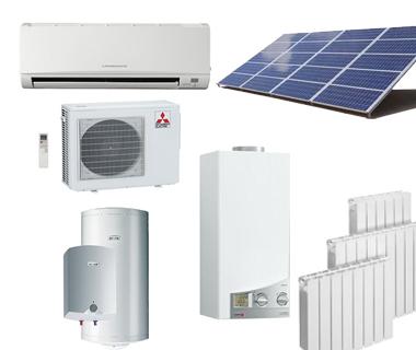 AA, Agua, Gas y Calefacción, Energía Solar