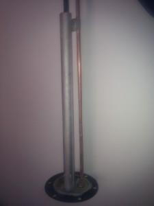anodo de magnesio con resistencia electrica